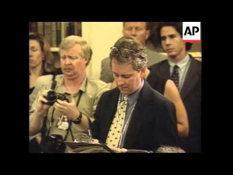 USA: WASHINGTON: PRESIDENT CLINTON'S US MISSILE ATTACK ON IRAQ SPEECH