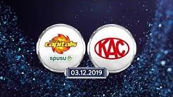 EBEL, 24. Runde: Vienna Capitals - EC KAC 0:1
