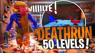 Deathrun 50 VRAIS levels avec Doc Jazy sur Fortnite Créatif !