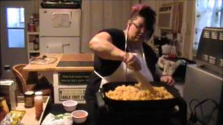 The Crazy Lady Cooks Episode 1: Chicken & Yellow Rice