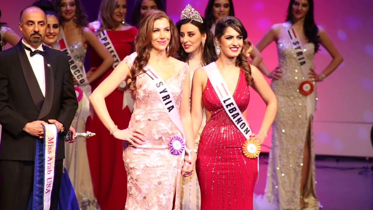 Miss Arab Usa 2018 Crowning Moment Youtube