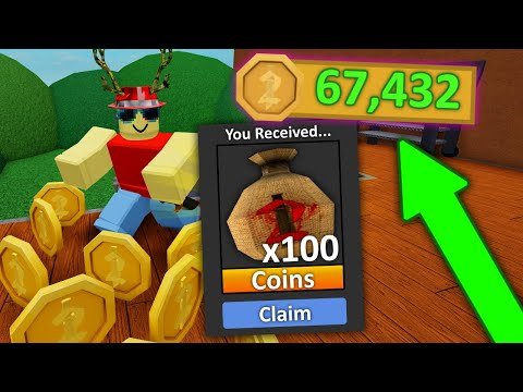 How to Farm Coins in Murder Mystery 2!
