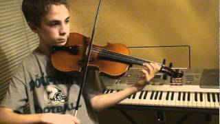 Mark McConathy plays Seitz Concerto No. 2 in G Major, Op 13, 3rd Mvt (Suzuki Book 4)