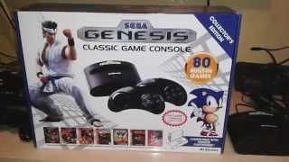 Sega genesis classic game console , análise em pt-br.