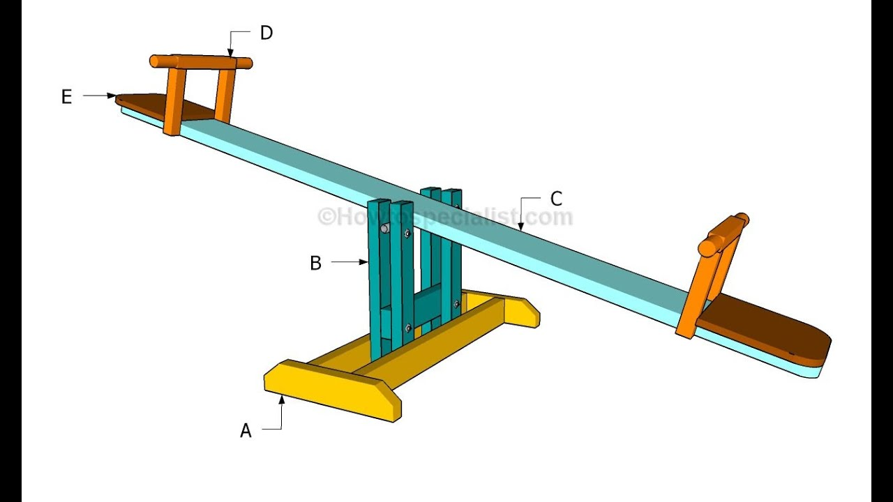 57e1824f10f6e How to build a seesaw - YouTube
