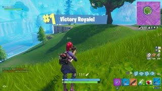Fortnite Another Solo Victory Clip Battle Royale Gameplay PS4