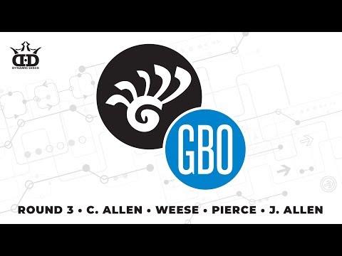Glass Blown Open 2019 - FPO Round 3 LIVE - C. Allen - Weese - Pierce - J. Allen
