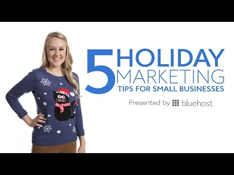 5 Holiday Marketing Tips for Small Businesses