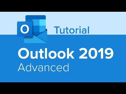 Outlook 2019 Advanced Tutorial