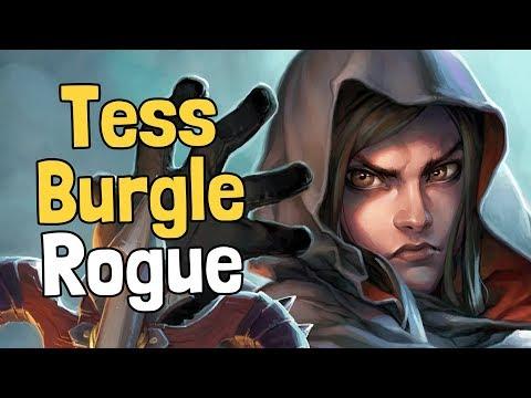 Tess Greymane Burgle Rogue Decksperiment - Hearthstone