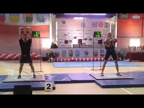 The Champion of Europe kettlebell Lifting 2012 - Goncharov Y