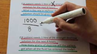 Understanding numeracy questions for nurses