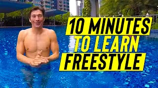 Learn to SWIM FREESTYLE in 10 minutes
