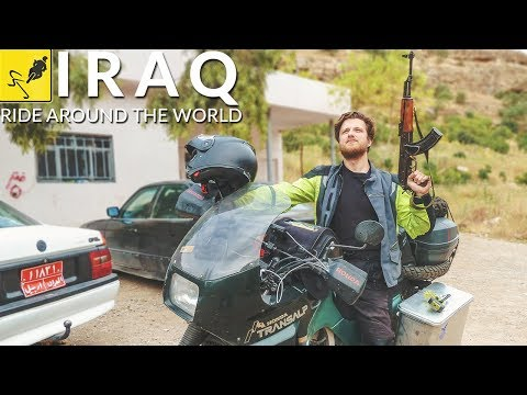 ADVENTURE MOTORCYCLE Travel Around the WORLD, Middle East – Iraq
