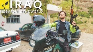 ADVENTURE MOTORCYCLE Travel Around the WORLD, Middle East - Iraq