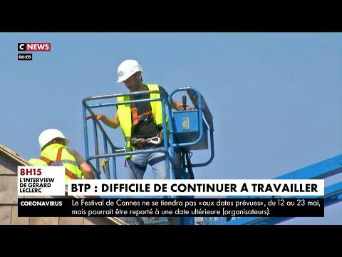 Coronavirus: tension entre les entreprises du BTP et le ministère du Travail