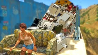 GTA 5 Funny Moments #75 (GTA V Fails and Random Gameplay Moments)