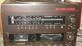 радіотехніка мр-5201 стерео radiotehnika mr-5201-1 магниторадиола 2 версія