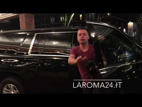 Tournée Usa, Kolarov atterra a Boston e raggiunge la squadra in hotel 21.07.17