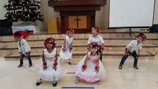 Mary's boy child #dance#song#kids#christmas#newyear#feileen#tkb#2016