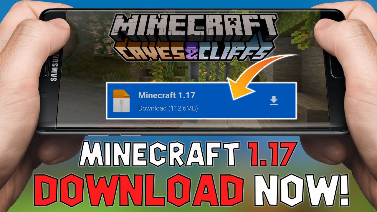 How To Download Minecraft 1.17 Caves & Cliffs Update For ...