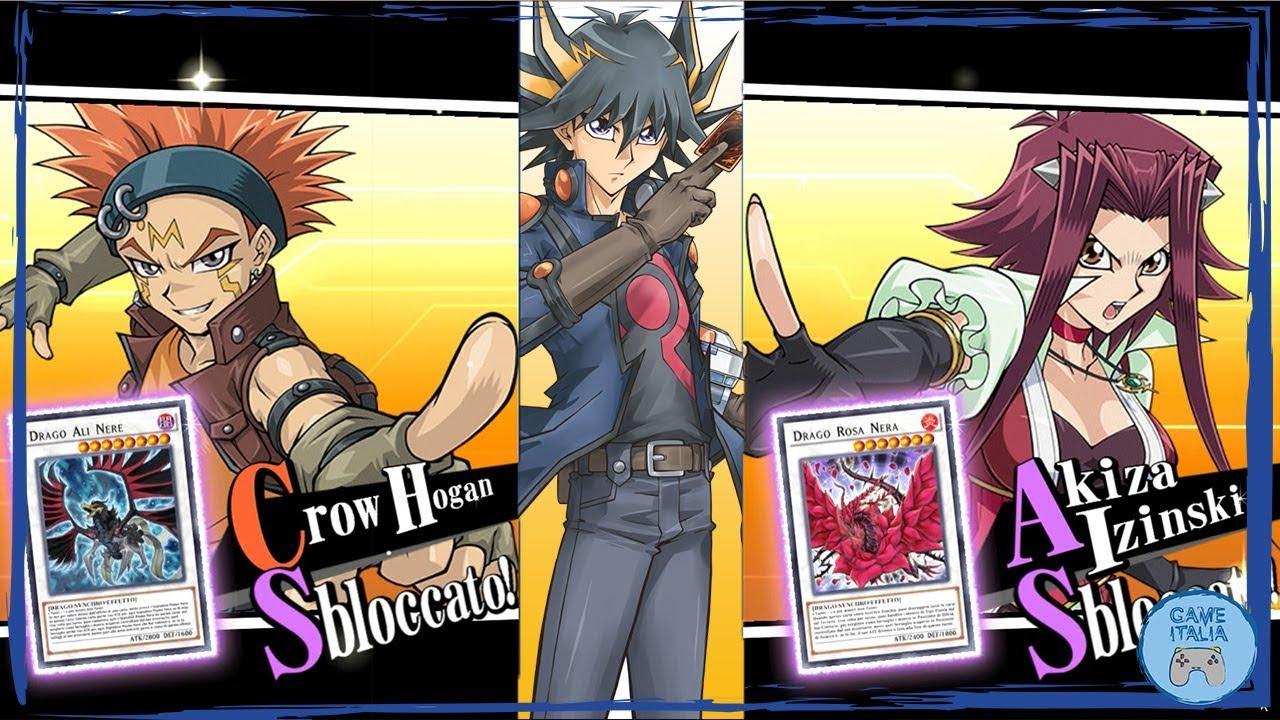 World 5D's | Unlock Crow and Akiza Izinsky [Yu-Gi-Oh! Duel Links]