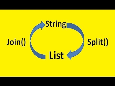 Python split and join strings to arrays and back