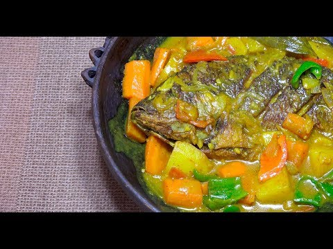 🔵 Fish Curry - Pinoy Fish Curry - Filipino Fish Curry - Tilapia Curry - Whole fish Recipe - Tagalog