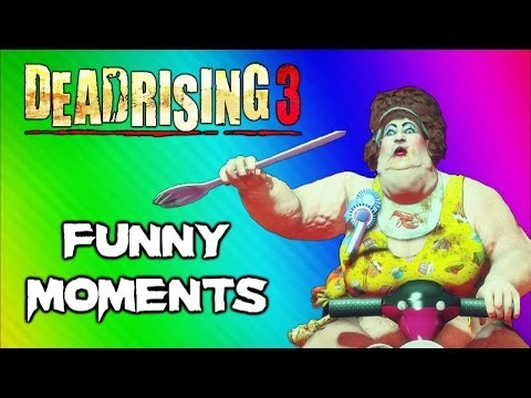 Thumbnail: Dead Rising 3 Funny Moments Gameplay 5 - Fat Lady Boss, Huge Bomb, Boxing Match, Best Weapon Ever