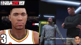 NBA 2k19 My Career Prelude - Vs NBA All Stars & Corey Harris DRAMA #3