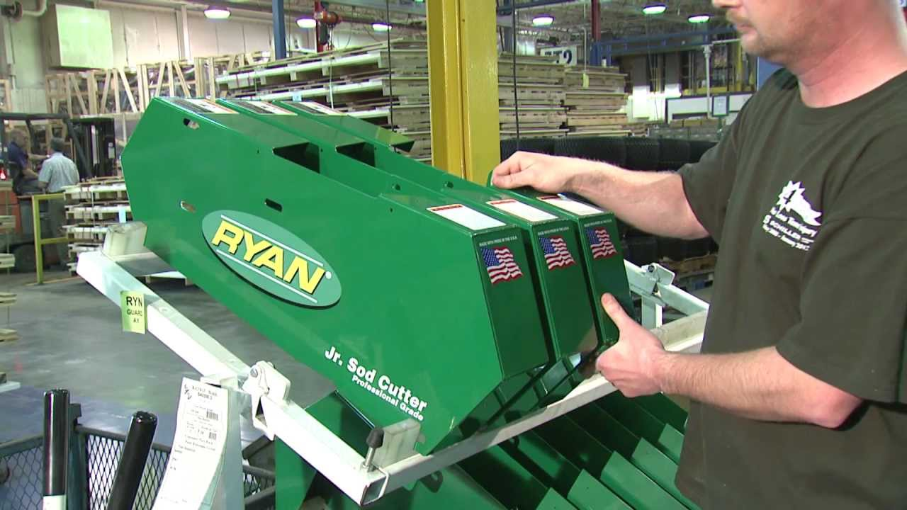 Manufacturing the Ryan® Jr  Sod Cutter in the USA