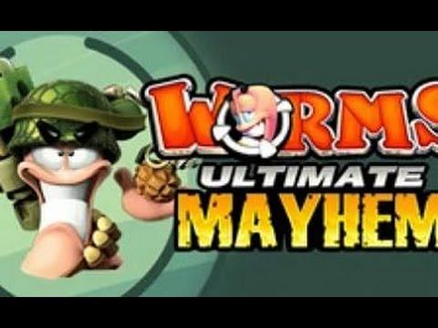 Скачать игры Worms 4 Mayhem torrentinome