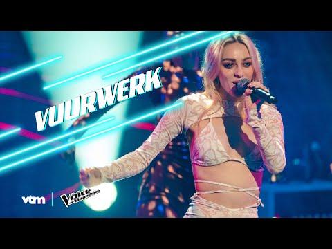 Camille - 'Vuurwerk' | Liveshow 1 | The Voice van Vlaanderen | VTM