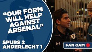 Video Gol Pertandingan Tottenham Hotspur vs Anderlecht