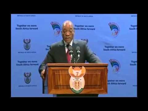 Jacob Zuma Shows Off His Masters Level Economic Knowledge