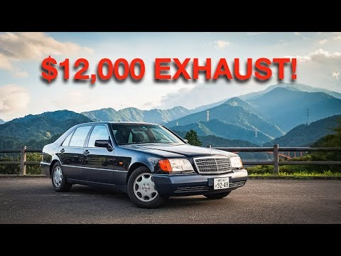 A $12,000 Exhaust Makes This Mercedes S600 Sound Like Your Favorite F1 Car