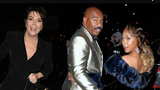 Kris Jenner Wants To Smash Steve Harvey And His Wife Found Out