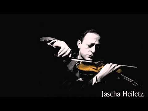 Heifetz plays the slow movement from Rachmaninov's Cello Sonata