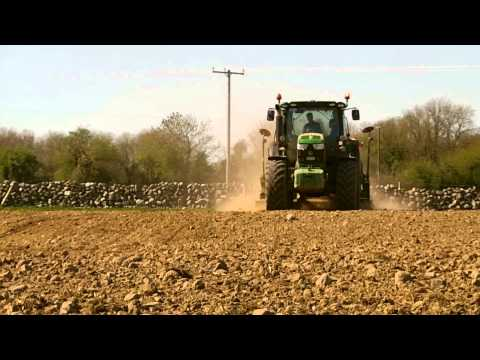 Carr Agri Sowing Wheat & Discing