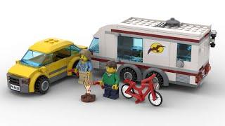 Lego 4435 CAR & CARAVAN Sp…