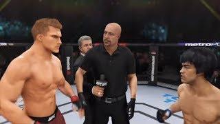 Ivan Drago vs. Bruce Lee (EA sports UFC 3) - CPU vs. CPU