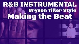 bryson tiller style rap instrumental learning new reason 95 live