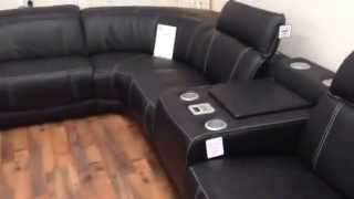 Natuzzi Bianco Exclusive Range Italian Leather Designer Corner Huge Discount