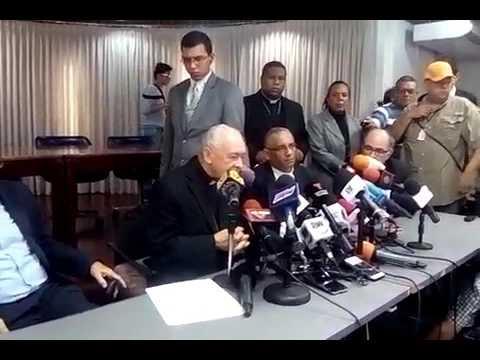 """Mons.Diego Padrón, CEV:""""Mencioné a Rep. Gob. casos detenidos a quienes han golpeado - Gral. Vivas-"""""""