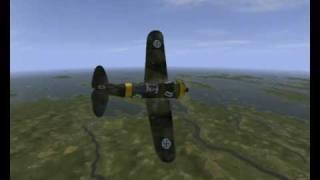 IL2 Sturmovik  B-239 Brewster Buffalo