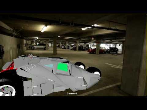Integration real image parking