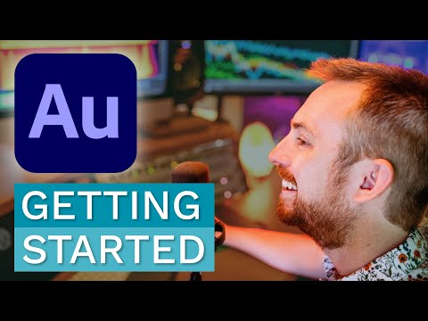 Getting Started with Adobe Audition - Complete Beginner Tutorial