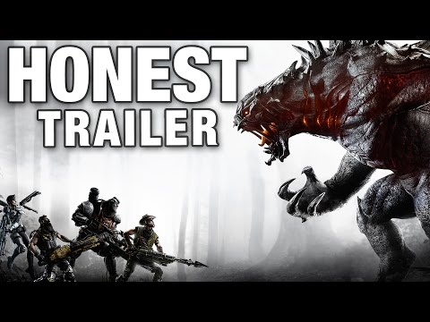 EVOLVE (Honest Game Trailers)