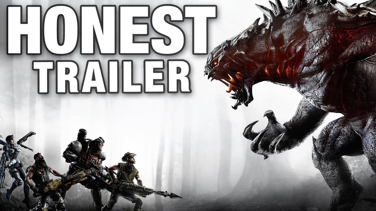 evolve honest game trailers youtube