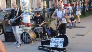 Уличные музыканты Санкт-Петербург